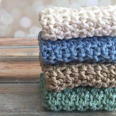 Enjoying working on some crochet dishcloths on a Sunday afternoon. #crochet #dishcloth #dishcloths #etsy #washcloth #washcloths