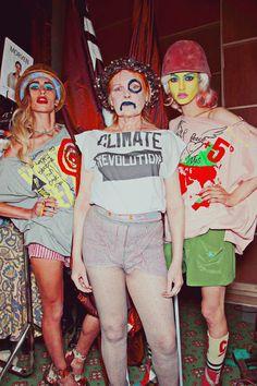 Backstage at Vivienne Westwood Red Label Spring / Summer 2013
