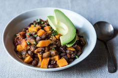Smoky Black Bean and Sweet Potato Chili, a recipe on Food52