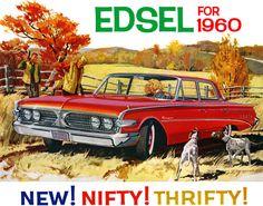 Plan59 :: Classic Car Art :: Vintage Ads :: 1960 Edsel Ranger