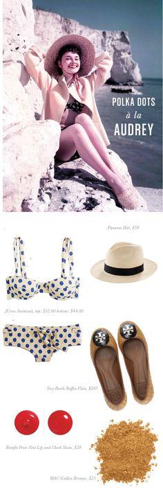 JENN: Too Cute - Audrey, polka-dot bikini
