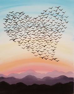 Love Is In The Air III at Roanoke City Market Building - Paint Nite Events near Roanoke, VA>