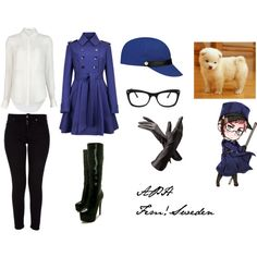 """APH Fem!Sweden"" by heracles-karpusi on Polyvore"