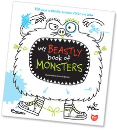 Especially Beastly Activities for Budding Artists (free printables)