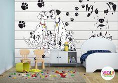 Fototapet copii 14 101 Dalmatieni Design, Home Decor, Art, Beast, Photo Wallpaper, Art Background, Decoration Home, Room Decor, Kunst