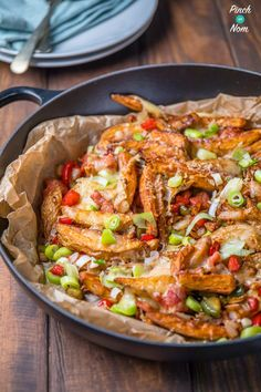 Dirty Fries - Pinch Of Nom - These Syn Free Dirty Fries will be a popular Slimming World addition to any dinner, lunch or snack - Slimming World Dinners, Slimming World Recipes, Clean Eating Recipes, Healthy Eating, Cooking Recipes, Healthy Food, Healthy Style, Healthy Meals, Kitchens