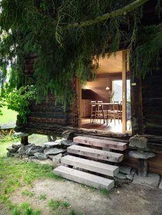 Sarreyer Cabin by Rapin Saiz Architects.