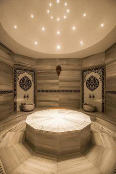 hamam KUMBURGAZ'DA VİLLA : Kırsal Spa Pimodek Mimari Tasarım - Uygulama