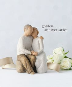 Willow Tree Golden Anniversaries - Love ever endures