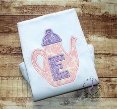 Tea Party Shirt  Tea Party Birthday Tea Party by jcoolcreations, $26.00