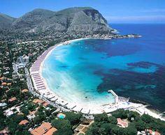 Mondello beach, #Palermo