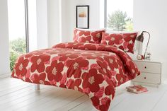 Bloomsbury Duvet Quilt Bedding Set | Red – Linens Range