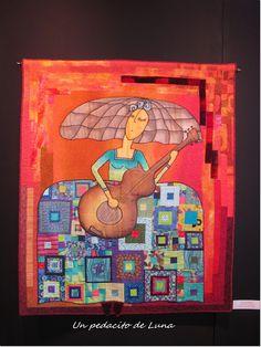 "Un pedacito de Luna: ""Variétés"" Infanta Margarita, Drawing People, Embroidery Stitches, Patches, Illustration Art, Textiles, Quilts, Drawings, Poster"