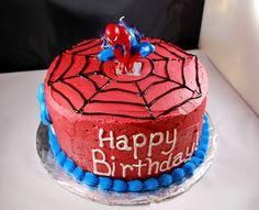 Spiderman birthday cake http://media-cache5.pinterest.com/upload/230387337157182249_lmFZyFeo_f.jpg kaleeshay superhero birthday ideas