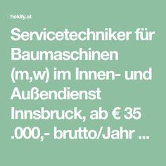 Außendienst Jobs in Innsbruck - Mai 2020