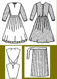 See the source image Doll Clothes Patterns, Doll Patterns, Clothing Patterns, Dress Patterns, Sewing Patterns, Bonnet Pattern, Free Pattern, Amish Dolls, Amish Crafts
