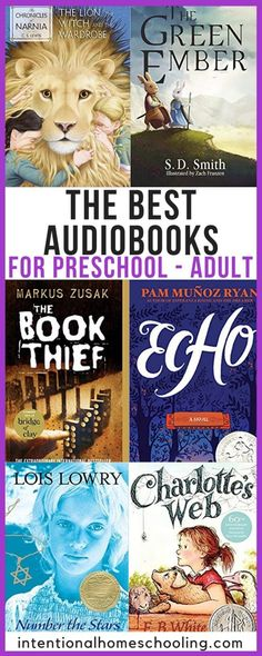 The Best Audiobooks For Preschool Adult Intentional Homeschooling - Kids Audio Books - ideas of Kids Audio Books - The Best Audiobooks for preschool all the way through to adult great audiobook suggestions for every age Audio Books For Kids, Childrens Books, Good Books, Books To Read, Beverly Cleary, Best Audiobooks, Markus Zusak, Preschool Books, Chapter Books