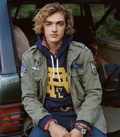 Preppy Boys, Military Jacket, Polo Ralph Lauren, Menswear, Mens Fashion, American, Field Jackets, How To Wear, Rugby