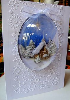 Item #6381 · Cuttlebug · Heart Prints, what a great way to repurpose some great Christmas cards!