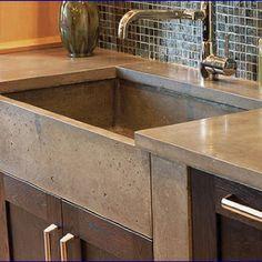 50 best concrete kitchen sink images in 2014 concrete kitchen rh pinterest com