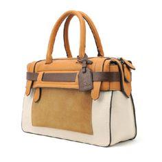 Color Block Fashion Handbag