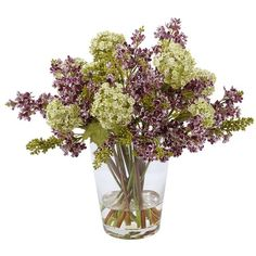 I pinned this Faux Lilac Arrangement I in Purple from the Winward event at Joss and Main!