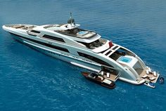 Heesen's Latest 65m FDHF Super Yacht A Terrace On The Sea