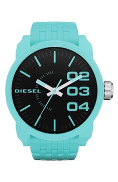 diesel watch turquoise