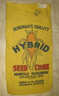 1959 Schuman's Hybrid Galesville, Wisconsin *