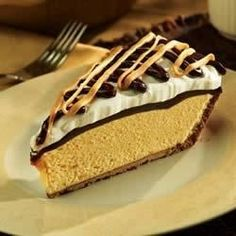 The famously irresistible duo -- peanut butter and chocolate -- come together in this rich and creamy pie.