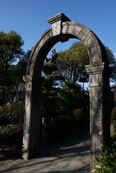 gatepost , Glover garden , Nagasaku