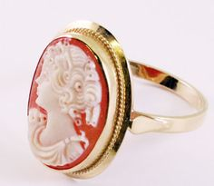animal rings have been done. Oversized cameo rings are the greatest and latest- straight from Italy, even better!