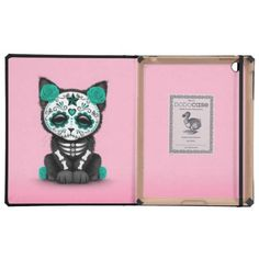 =>>Cheap          Cute Teal Blue Day of the Dead Kitten Cat, pink Cases For iPad           Cute Teal Blue Day of the Dead Kitten Cat, pink Cases For iPad you will get best price offer lowest prices or diccount couponeDeals          Cute Teal Blue Day of the Dead Kitten Cat, pink Cases For i...Cleck Hot Deals >>> http://www.zazzle.com/cute_teal_blue_day_of_the_dead_kitten_cat_pink_case-256979269924840510?rf=238627982471231924&zbar=1&tc=terrest