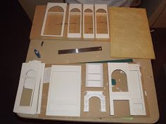 Late Victorian English Manor Dollhouse: 1/12 Miniature from Scratch: May 2014
