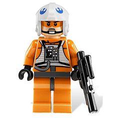 Lego X-wing Pilot - Star Wars Minifigure Starwars Toys, X Wing, Minions, Pilot, Lego, Star Wars, Superhero, Stars, Amazon