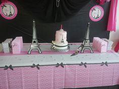 Paris Birthday theme