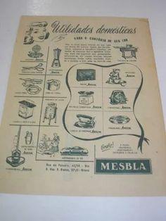 ( l - 290/ g ) propaganda antiga anos 50 lojas mesbla