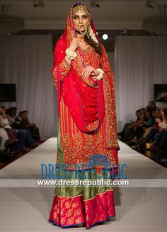 Buy Online Pakistani Bridal Dresses 2014 & Orange Bridal Outfits by Top Pakistani Fashion Designers. Original Quality. Affordable Prices. Pakistani Bridal Dresses 2014 | Orange Bridal Outfits