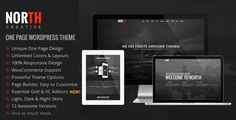 North is a 100% responsive and parallax one page WordPress theme. North is powered with Twitter Bootstrap 3.2 Framework. It is clean and professional theme perfect for agencies and creative studios.   #agency #color #dark #fullscreen #isotope #light #modern #night #onepage #oxygen #page builder #portfolio #pricing table #shortcodes