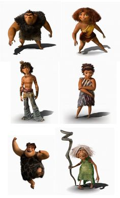 Google Image Result for http://theconceptartblog.com/wp-content/uploads/2012/10/TheCroods-characters.jpg