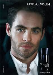 Could there be a better face of Armani? Don't think so.
