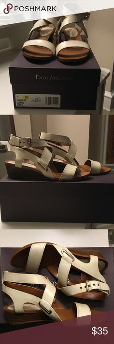 Sandals Worn just twice...very comfortable! Enzo Angiolini Shoes Sandals