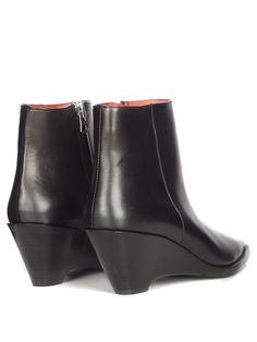 Cony leather ankle boots | Acne Studios | MATCHESFASHION.COM UK