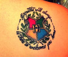 """Another Pinner:  This is my second tattoo, but my first HP one. Done at """"Tendre Furie"""" in Brussels on the 23rd of december 2011. """"The stori..."""