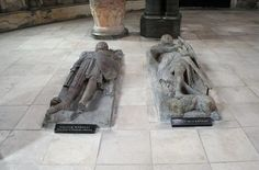 "Knight effigies in Temple Church in London. Famed for its rare circular nave called ""the Round,"" was built by the Knights Templar in the 12th century. It is one of only three Norman round churches left in England."
