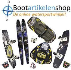 Funtubes, Kneeboards, Wakeboards, Waterski's en accessoires.. Bootartikelenshop.nl