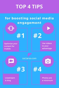 4 Top Tips for Boosting Social Media Engagement - sociaroo Indie Music, Music Music, Twitter Tips, Social Media Engagement, Instagram Tips, Entrepreneurship, Musicians, Label, Facebook