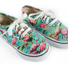 vans schoenen flamingo