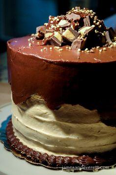 Chocolate & Peanut Butter Cake