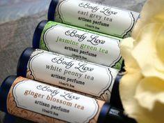 Artisan Tea Collection  4 Tea Inspired Artisan by BodyLuxe on Etsy, $45.00